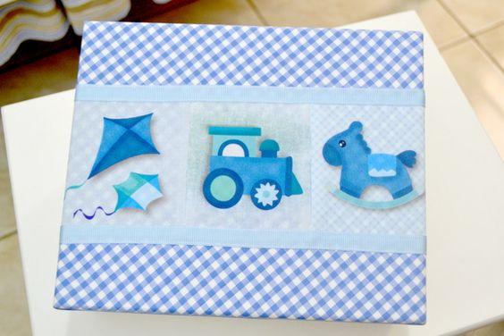 Blue Box Decorative Children