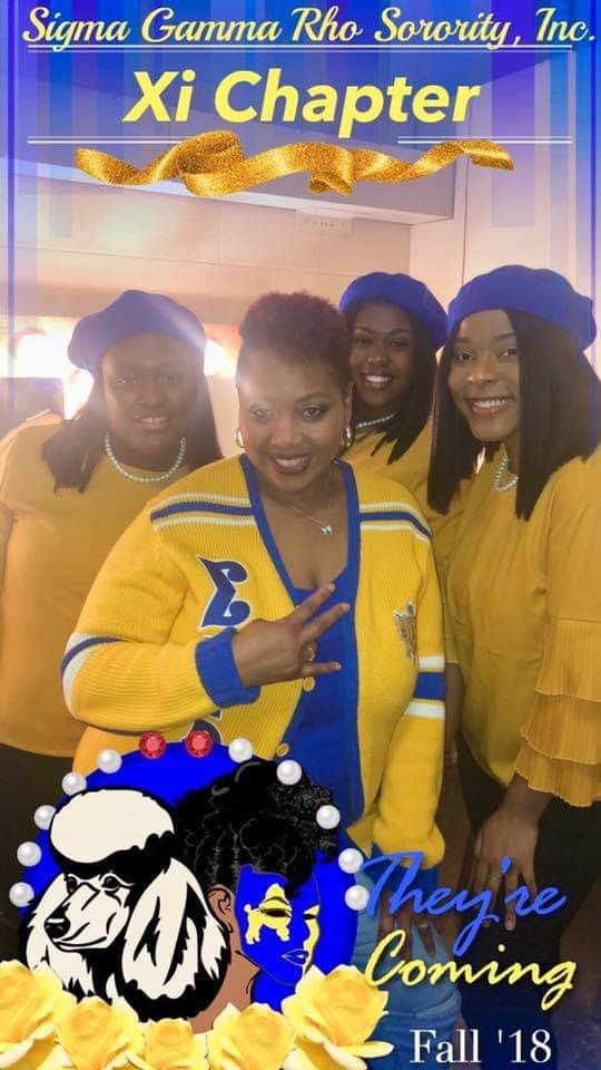 Welcome New Xi Chapter Of Sigma Gamma Rho Sorority Inc Francis