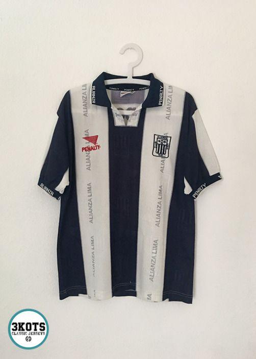 ALIANZA LIMA Peru 199899 Pizarro Home Football Shirt M