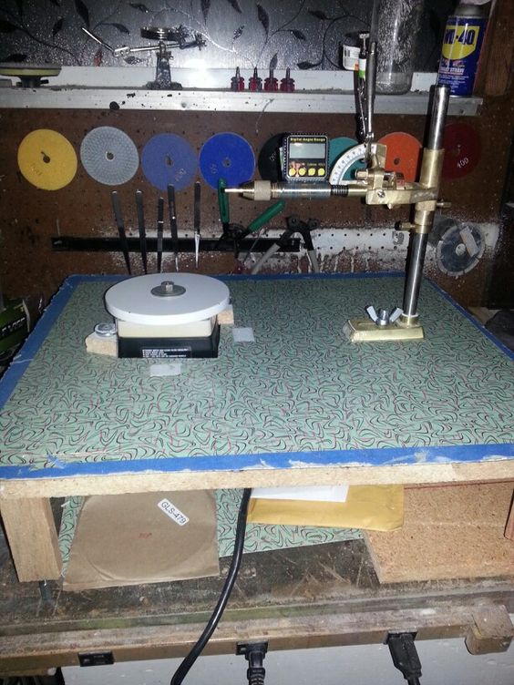 How to build lapidary equipment