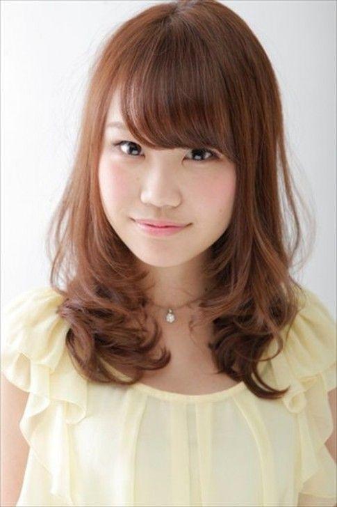 Japanese Medium Length Hairstyle Gaya Rambut Rambut