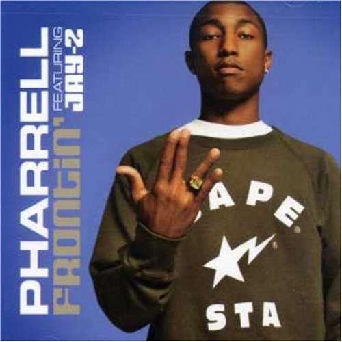 Pharrell Williams, Jay-Z – Frontin' (single cover art)