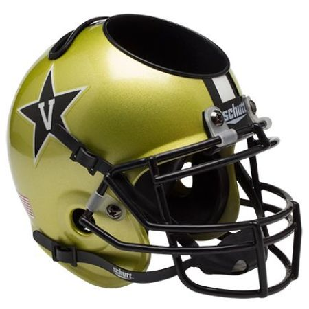 Vanderbilt Commodores Schutt Mini Helmet Desk Caddy