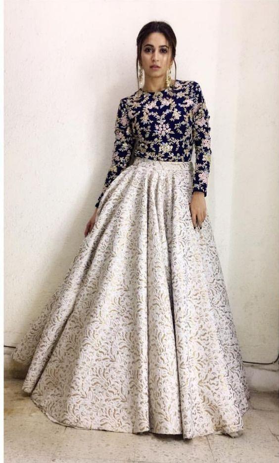 Indian Party Wear Lehenga Dress In 2019 Indian Fashion