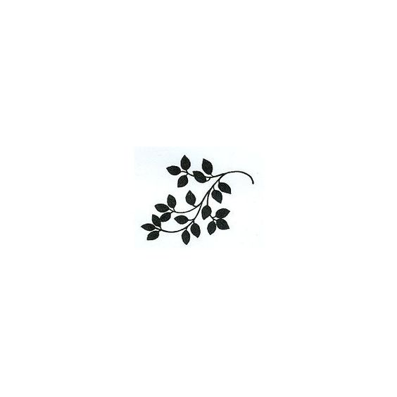 Great Impressions Garden Flourish Rubber Stamps ($6.75) ❤ liked on Polyvore featuring home, home decor and trees
