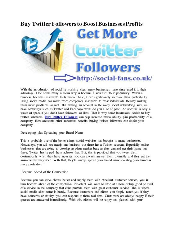 We're offering social media services at cheap rates. Buy Twitter followers UK, and Cheap Twitter Re-tweets, Real Twitter Followers via PayPal.