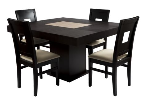Comedor renlig minimalista chocolate 4 sillas home ideas for Comedor minimalista