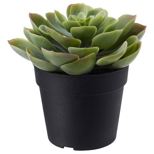 Fejka Artificial Potted Plant Oregano Ikea In 2020 Artificial Plants Outdoor Artificial Potted Plants Artificial Plants