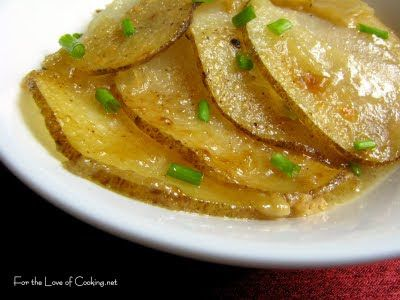 steak sides | Scalloped Potatoes with Caramelized Onions