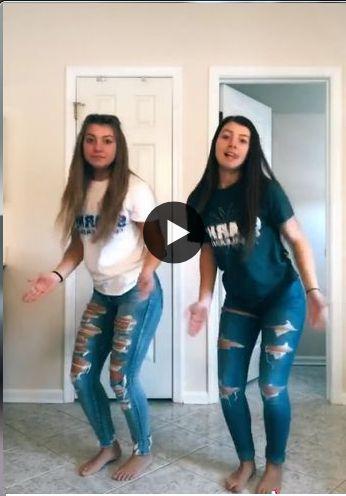 meninas dança muito bem