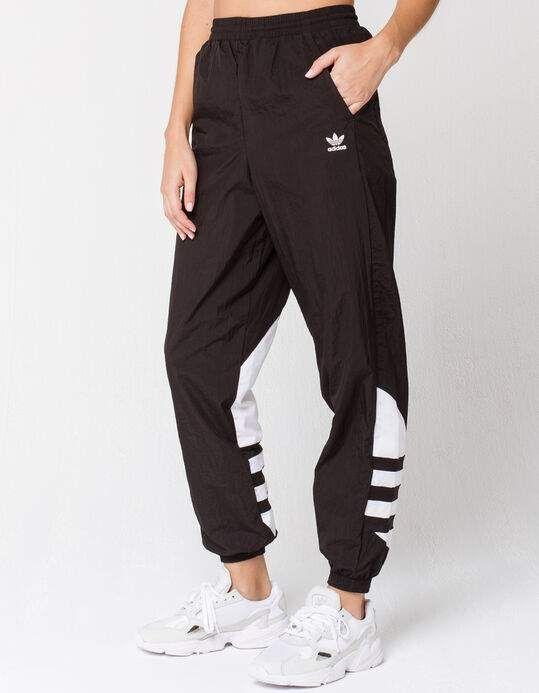 Adidas Big Logo Womens Track Pants Blkwh 358888125 In 2020 Track Pants Women Adidas Track Pants Outfit Pants