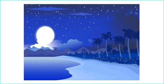 22 Cool Free Vector Night Scenes For Designers