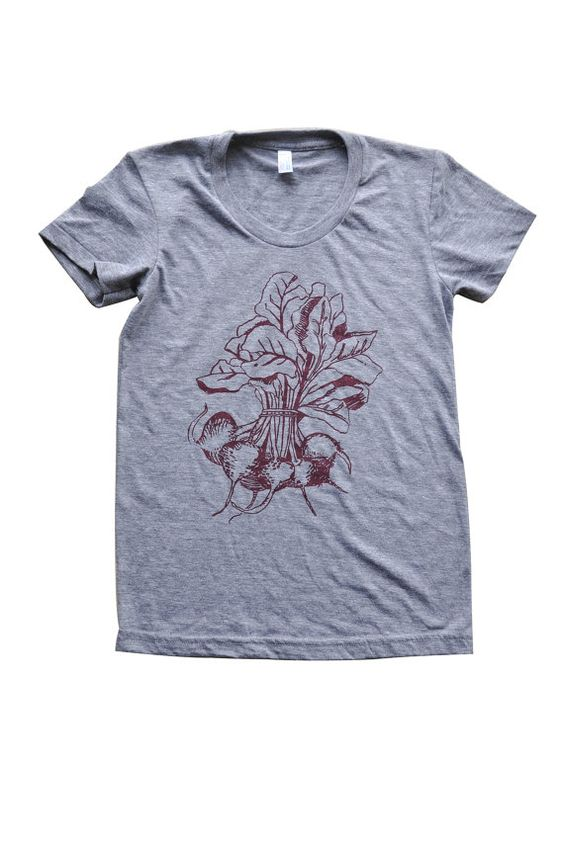 Women's Beets T shirt by EMaryniak on Etsy, $25.00:  Tee Shirt, Beets, American Apparel, Style Wishful Thinking,  T-Shirt, 25 Cotton