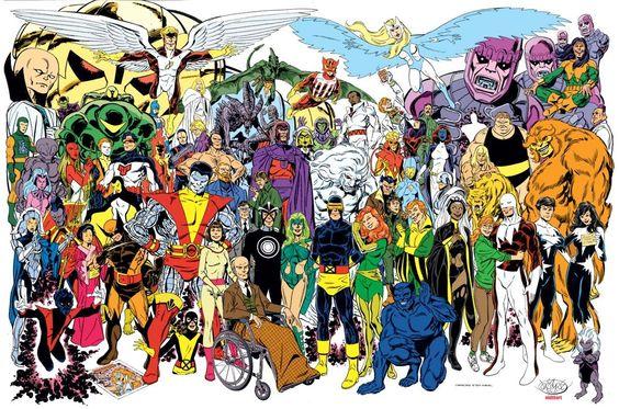 X-Men by John Byrne.