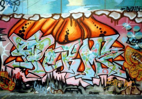 Giant Productions Graffiti Pinterest Graffiti Street Art - Beautiful giant murals greek gods pichi avo
