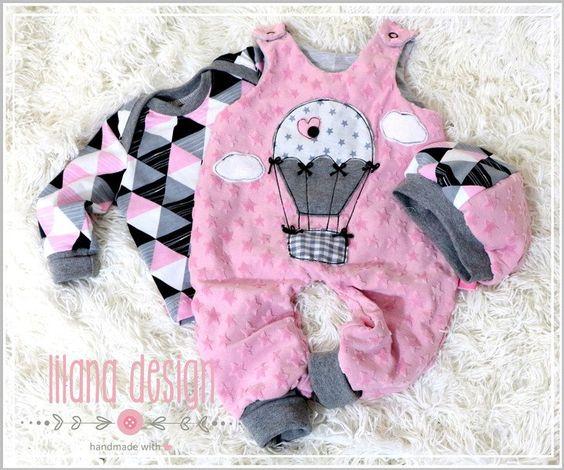 Sets - ♥Süßes Baby Newborn Set gr.56 3tlg.♥ - ein Designerstück von…
