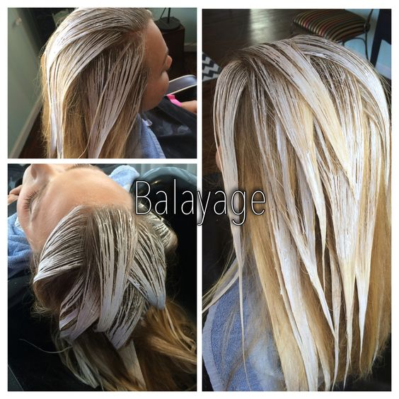Hair Painting Balayage Hair And Balayage On Pinterest