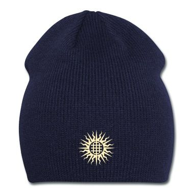 Stylized sun with complex cross design!