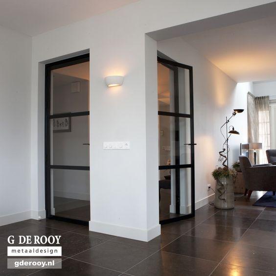 http     www stalen binnendeuren nl  voorbeelden stalen deuren  2 enkel deur staal glas ederveen