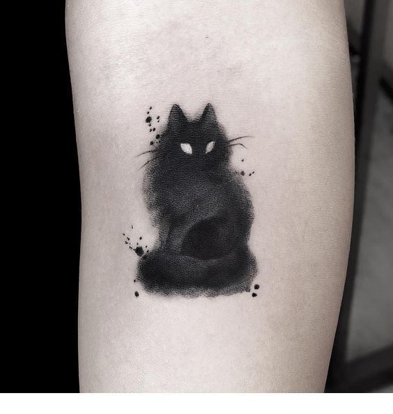 Cute Cat Tattoo Cat Tattoo Designs Black Cat Tattoos Cat Tattoo