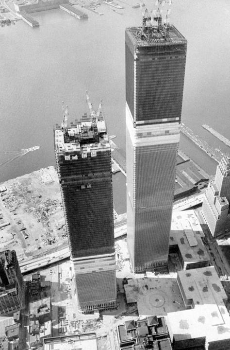 NYC - Vintage c.1971, New York City  (Sigh.)(Notice the Hudson River...no Winter Garden, no World Financial Center.)  @A Lifetime Legacy