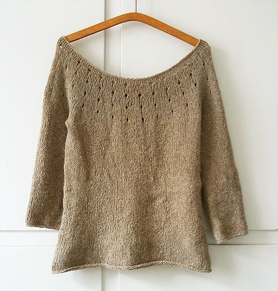 the simple sweater