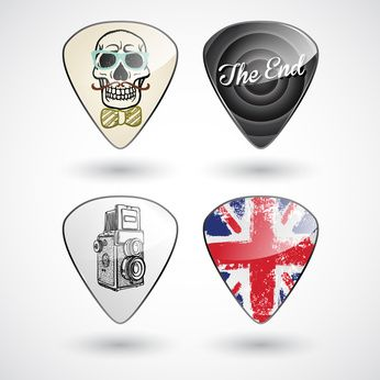 Finding the Best Makers of Customized Guitar Picks