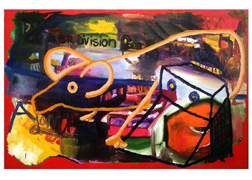 Adam, 2012, 160x250cm, Oil on canvas