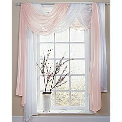 Ways To Hang Curtains ways to hang sheer curtains | sheer valance will add light to your