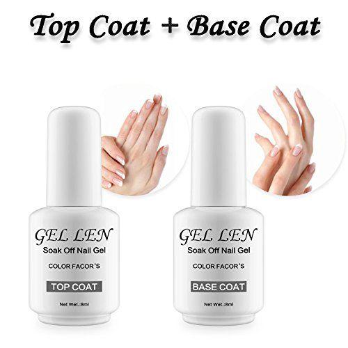Cool Top 10 Best Gel Nail Polish Base And Top Coat Top Reviews Gel Nail Polish Set Gel Nails Gel Nail Polish