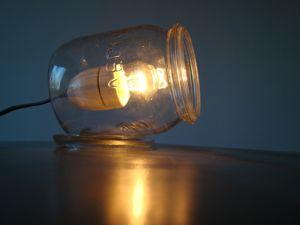 Weckpot lamp