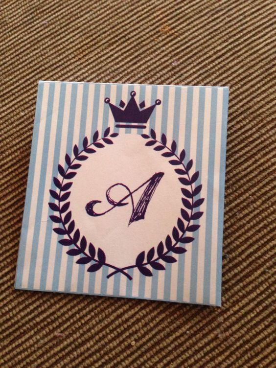 Convite pro Chá do meu Príncipe Arthur