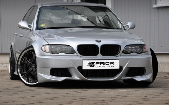 PRIOR-DESIGN PD Aerodynamic-Kit for BMW 3-Series E46 [Limousine] - PRIOR-DESIGN Exclusive Tuning