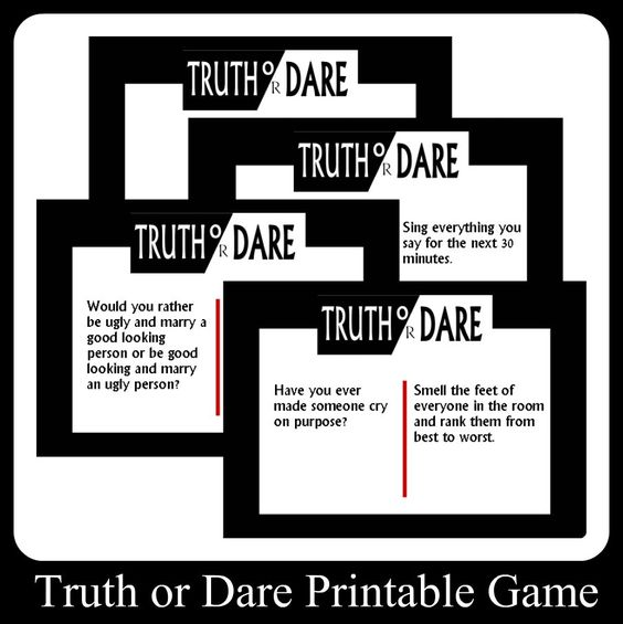 truth or dare questions adult party