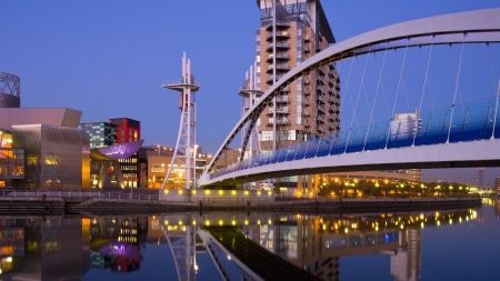 awesome suspension bridge in manchester england - Bridges Wallpaper ID 1327636 - Desktop Nexus Architecture