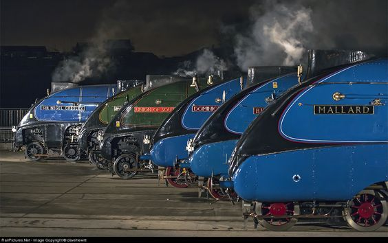 RailPictures.Net Photo: National Railway Museum Steam 4-6-2 at Shildon, United…