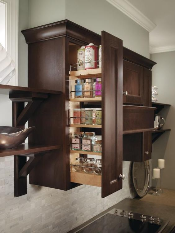 Homecrest Wall Pullout Making The Most Of A Slim Space