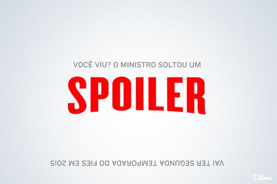 Viu a presidenta Dilma divulgando spoiler na timeline do Facebook? - Blue Bus