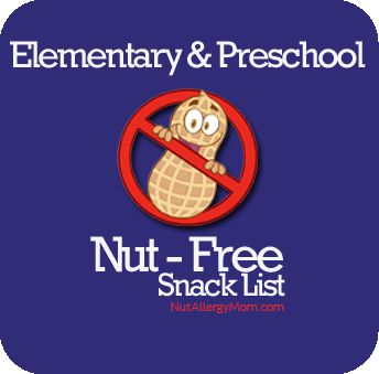The Ultimate List of Peanut and Tree Nut Free Snacks for Preschool
