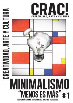 "Crac! Magazine - #1 ""Minimalismo""  http://www.cracmagazine.com/"