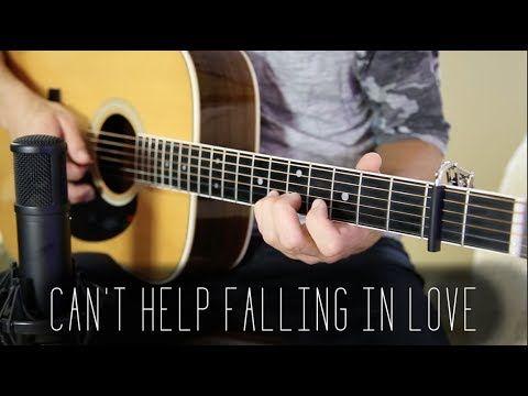 Can T Help Falling In Love Elvis Presley Acoustic Guitar Cover Youtube Cant Help Falling In Love Falling In Love Elvis Elvis Presley