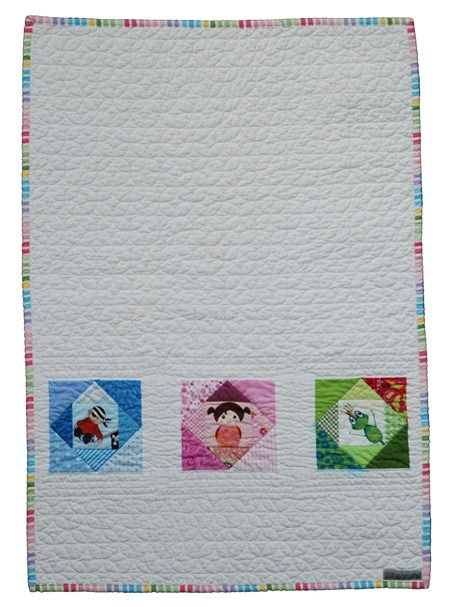 PP Baby Quilt pretty quilted background!