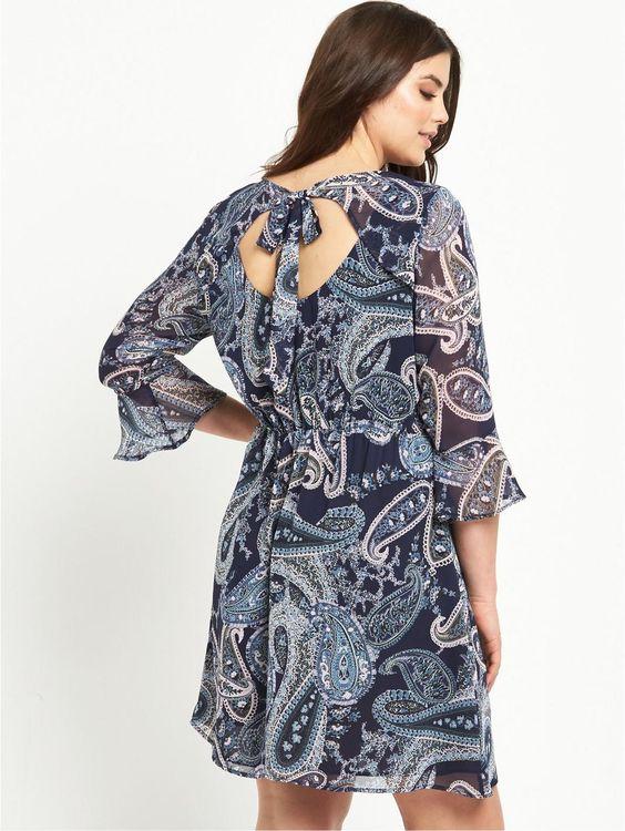 Tie Back Tunic Dress, http://www.littlewoodsireland.ie/so-fabulous-tie-back-tunic-dress/1600058899.prd