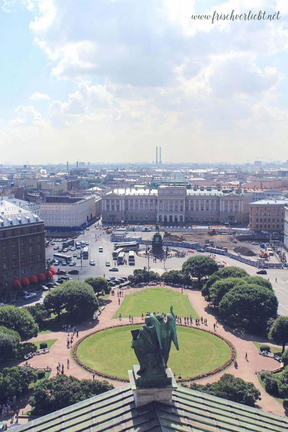 Frisch Verliebt: eine Woche St. Petersburg mit Bilderbuchcharakter