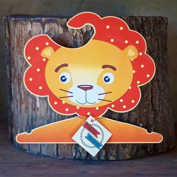 Hanger lion #happy_teepee_zoo