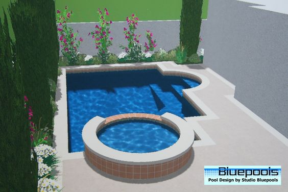 Pool Designs With Spa small pool designs | small pool with spa | my pins | pinterest