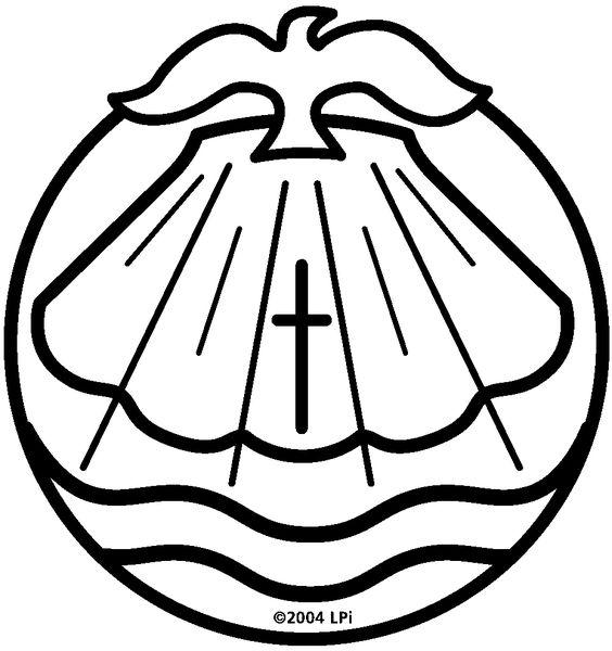 symbols of catholic baptism - Google Search | needle ...