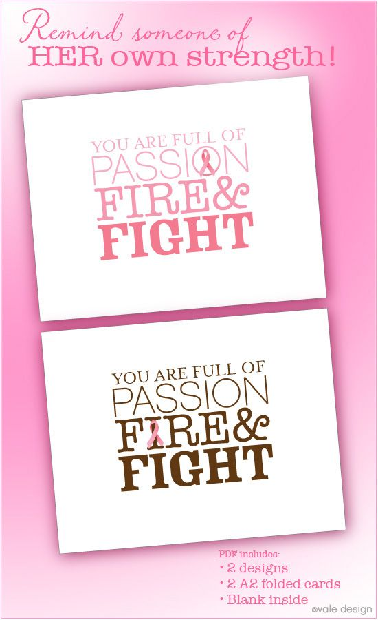 appropriate cards for breast cancer person