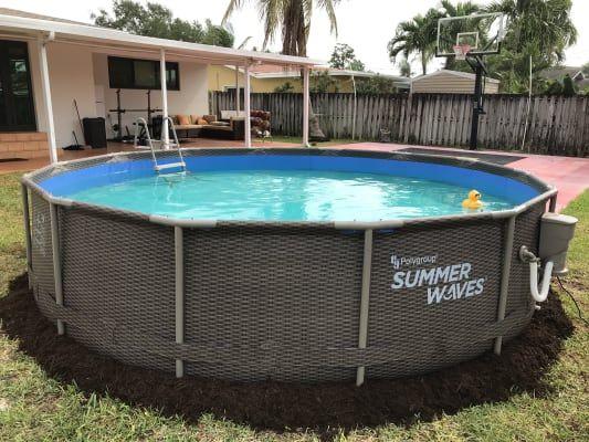 Summer Waves 14 X 36 Big Lots Pools Pool Big Pools