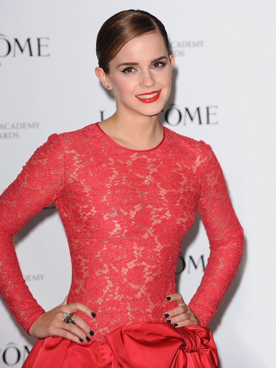 Beautiful Emma Watson in Red Dress! | Celebrity Pictures ...